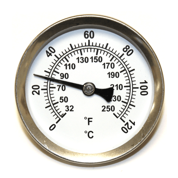 Anton Pipe Therm Steel Dial Thermometer by Anton from Heat Group Supplies