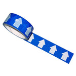 Regin Blue/White Arrow Direction Tape - 33M by Regin from Heat Group Supplies
