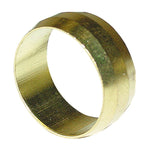 Regin 15mm Brass Olive - Pack Of 6 by Regin from Heat Group Supplies