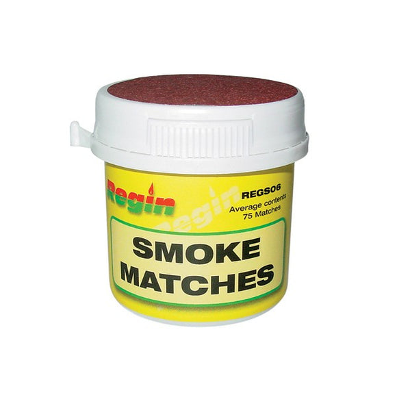 Regin Smoke Matches - Tub Of 75 by Regin from Heat Group Supplies