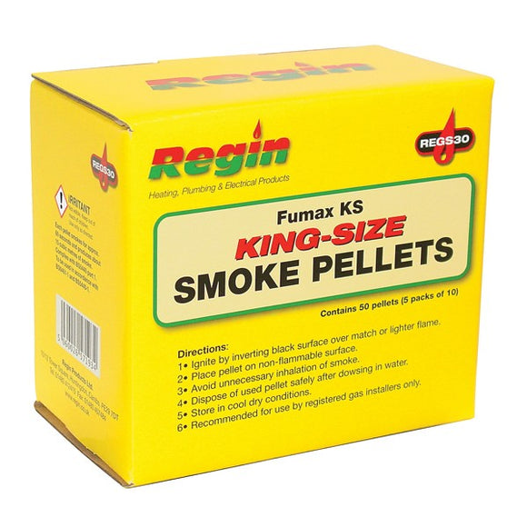Regin Fumax King Size Smoke Pellets - Pack Of 50 by Regin from Heat Group Supplies