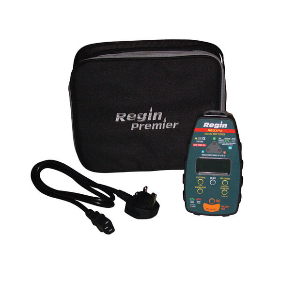 Regin Part P Multifunction Digital RCD Tester by Regin from Heat Group Supplies