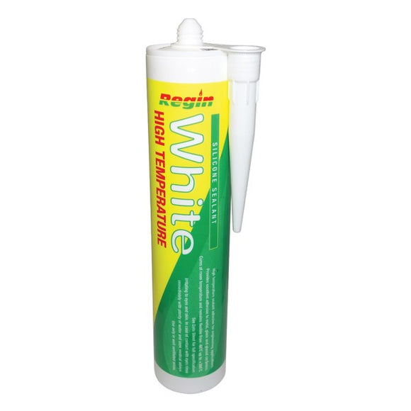 Regin High Temperature Silicone Sealant - White by Regin from Heat Group Supplies