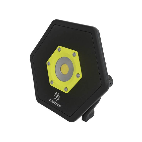 Unilite 1300 Lumen Industrial Hexagon Aluminium Site Light