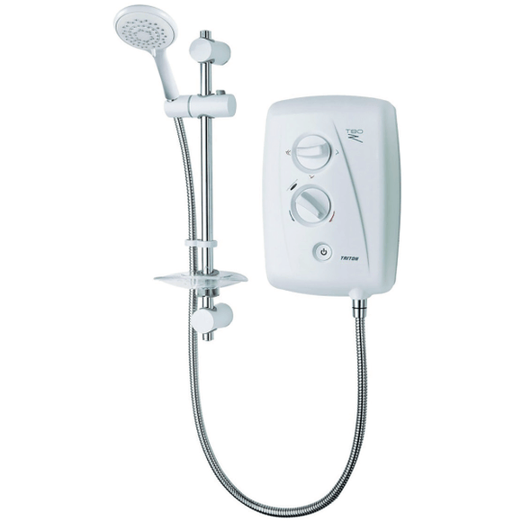 Triton T80Z Fast-Fit 9.5Kw Electric Shower by Triton from Heat Group Supplies