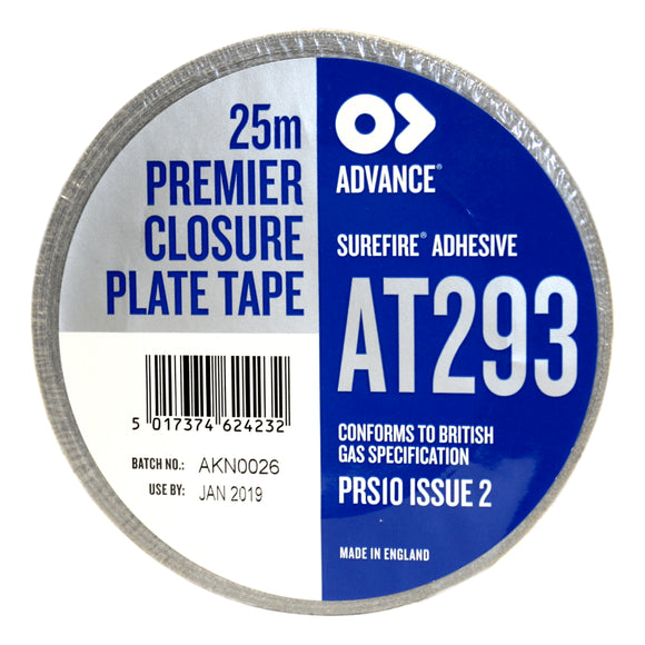 Closure Plate Tape 25m by Heat Group Supplies from Heat Group Supplies