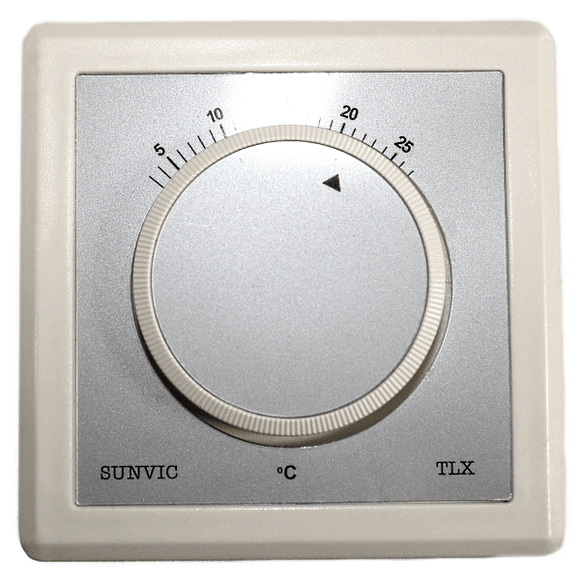 Sunvic TLX2259 Room Thermostat 240v by Sunvic from Heat Group Supplies