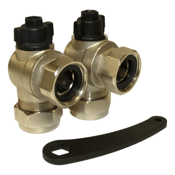 Adey VAL28PK 28mm Magnaclean Original Type Isolation Valves by Adey from Heat Group Supplies