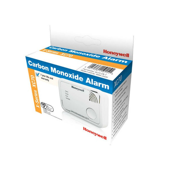 Honeywell XC70-EN Carbon Monoxide Detector by Honeywell from Heat Group Supplies