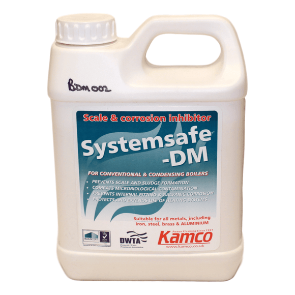 Kamco Systemsafe DM Scale Inhibitor 1Ltr by Kamco from Heat Group Supplies