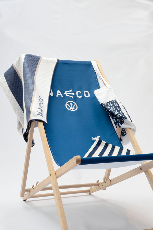 Luxury Beach Towel - Naeco - Luxury Mens Swimwear - Tailored Swim Shorts - Luxury Swimshorts