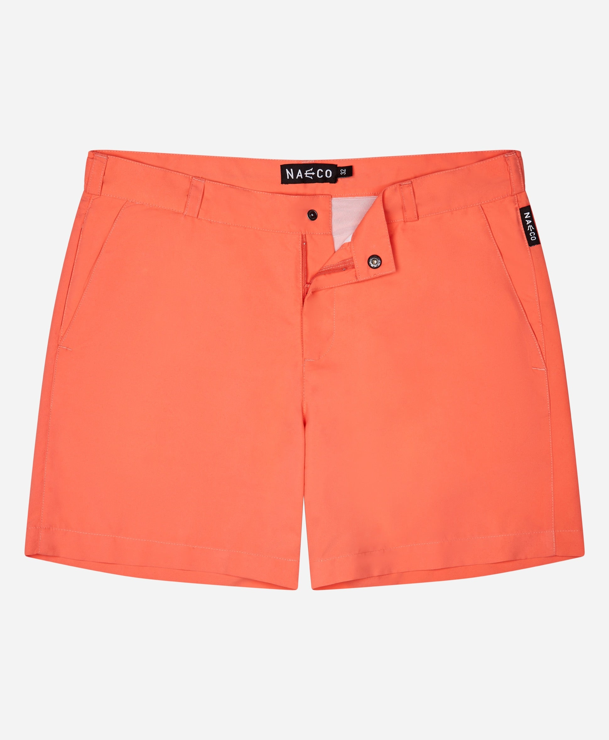 Naeco Original's - Living Coral - Naeco - Luxury Mens Swimwear - Tailored Swim Shorts - Luxury Swim Shorts