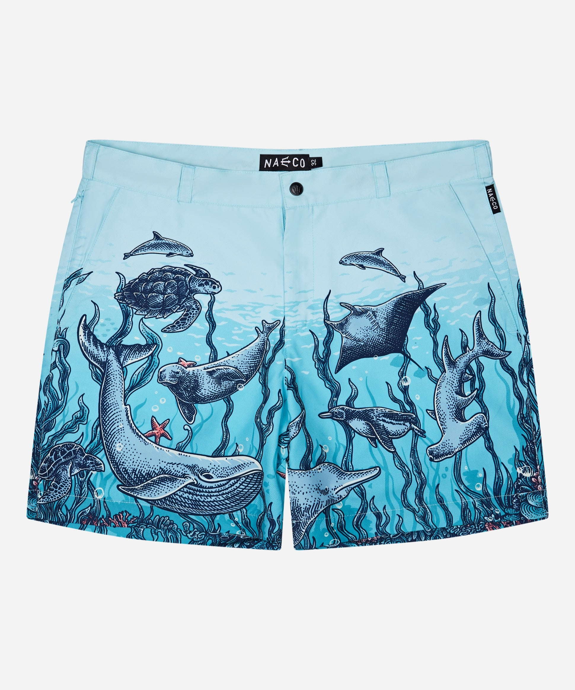 Tailored Original Swim Shorts - Endangered Species Print