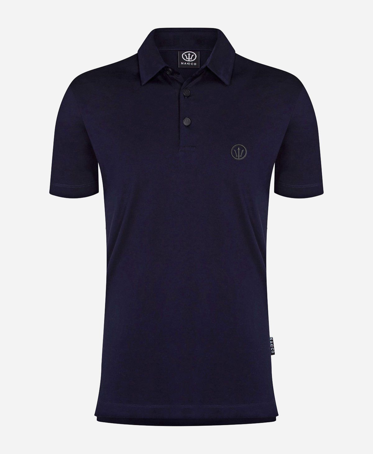 Organic Resort Polo - Deep Sea Blue