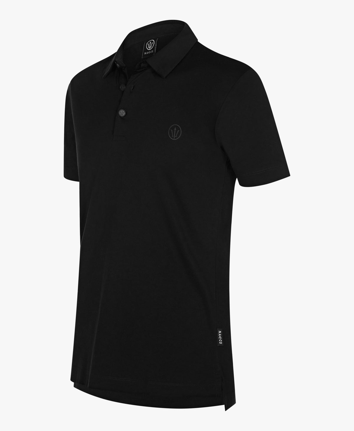 Organic Resort Polo - Orca Black