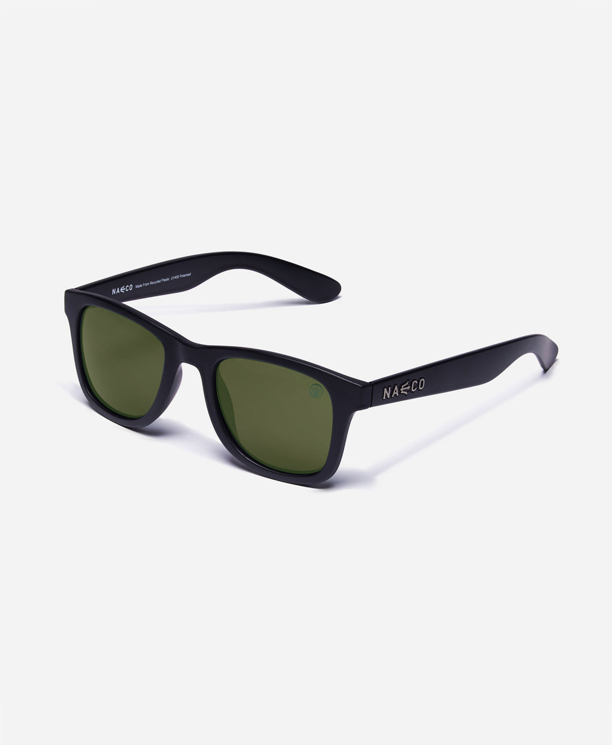 Trident UV Polarised Sunglasses - Gloss Frame - Fighter Pilot Green