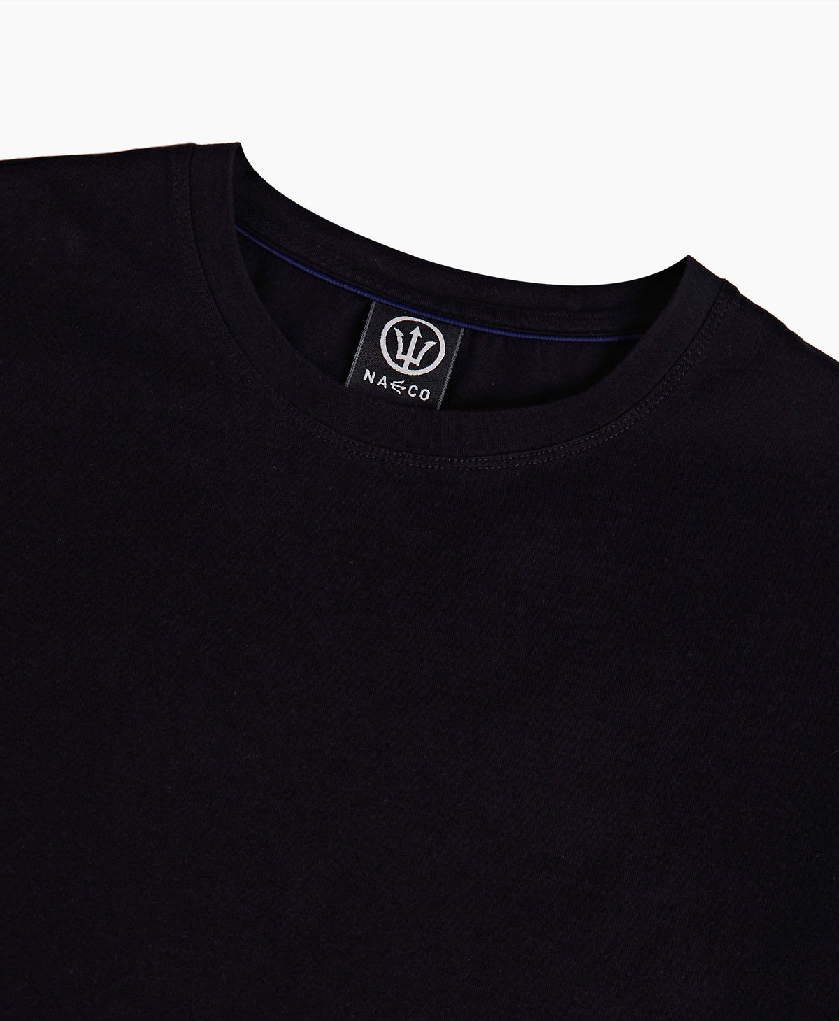Bamboo Essential Tee - Orca Black