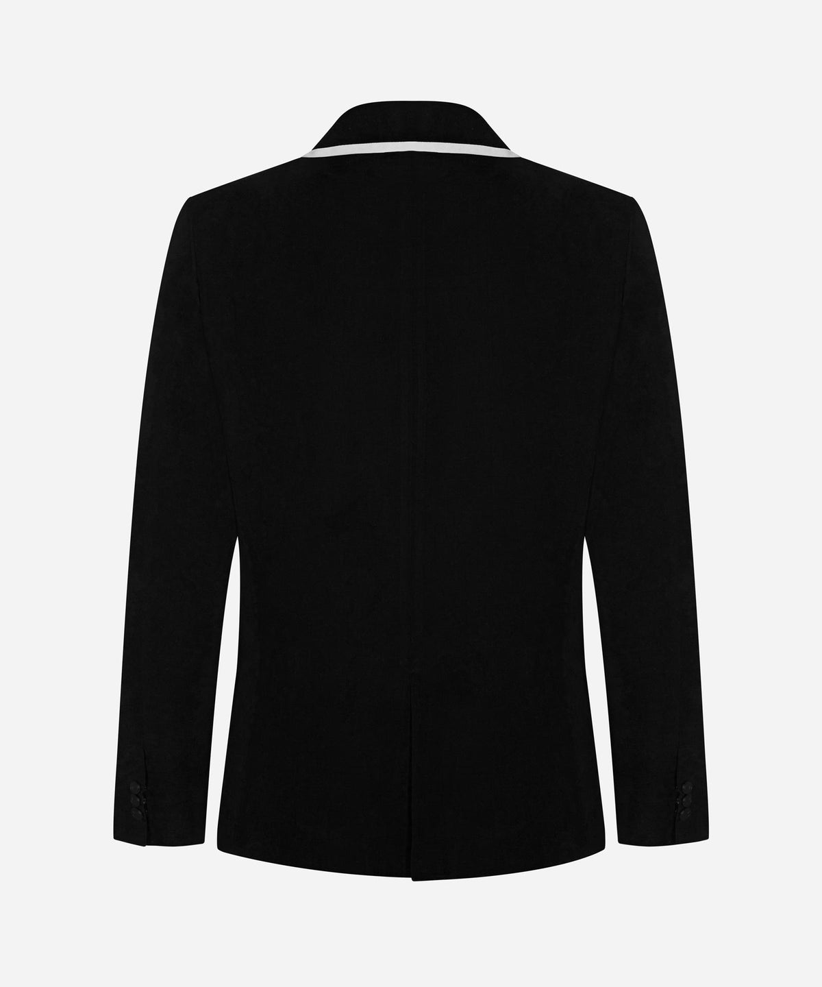 The Beach Blazer - Black/ White Trim