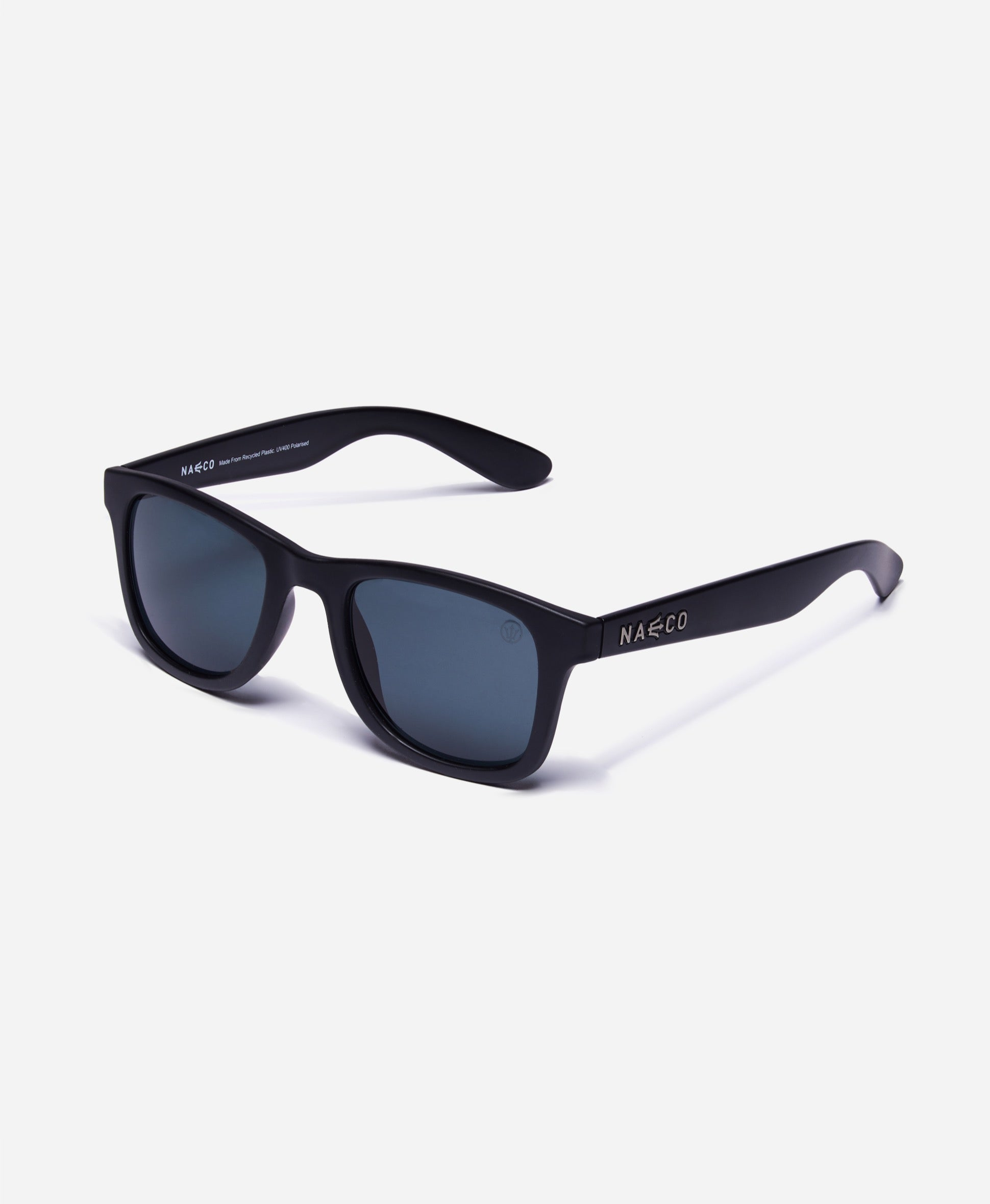 Trident UV Polarised Sunglasses - Matte Frame - Orca Black