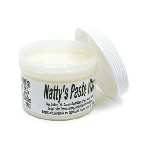 Natty''s Paste Wax White - Poorboy's