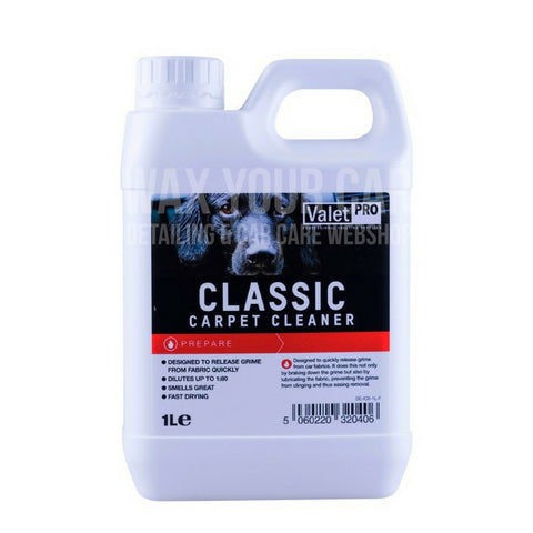 Classic Carpet Cleaner - Valet Pro