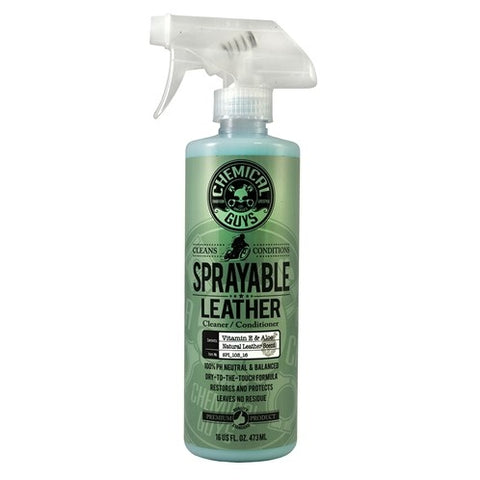 Sprayable Leather Cleaner & Conditioner - Chemical Guys