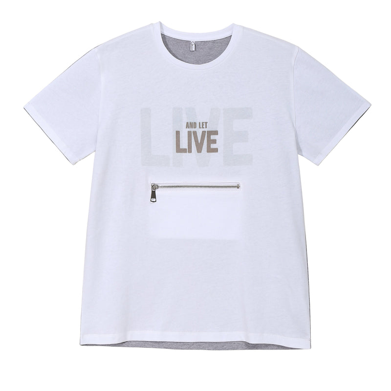 T-shirt for animal lovers Live and let live