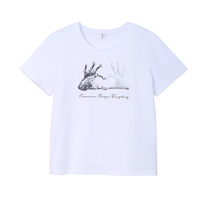 COMPASSION CHANGES EVERYTHING TEE