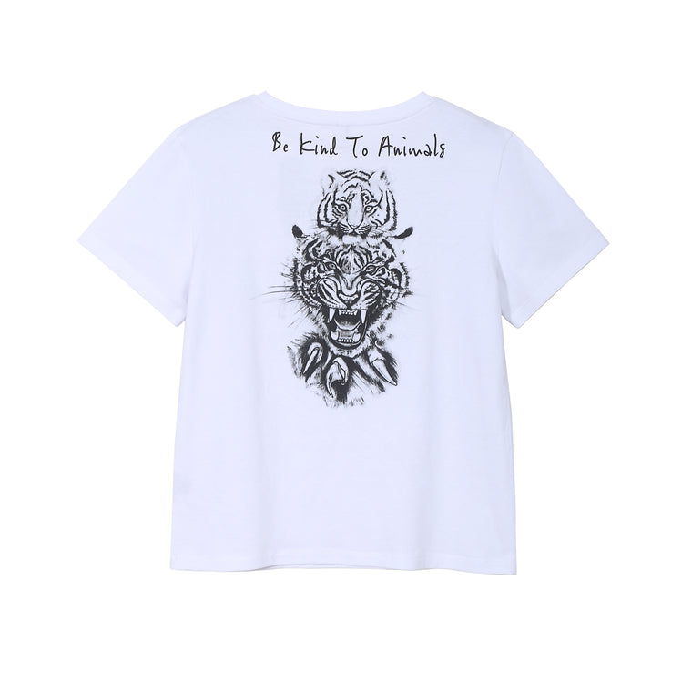 BE KIND TO ANIMALS TEE (DARK)