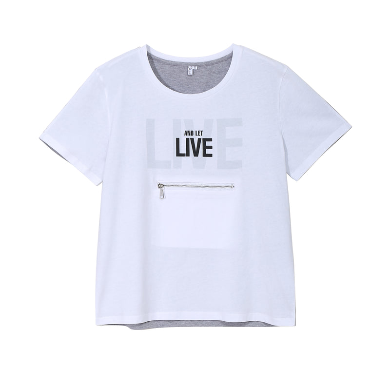LIVE AND LET LIVE TEE (DARK)