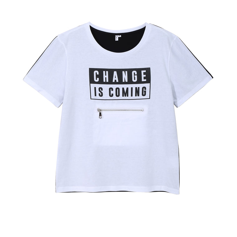 CHANGE IS COMING TEE (DARK)