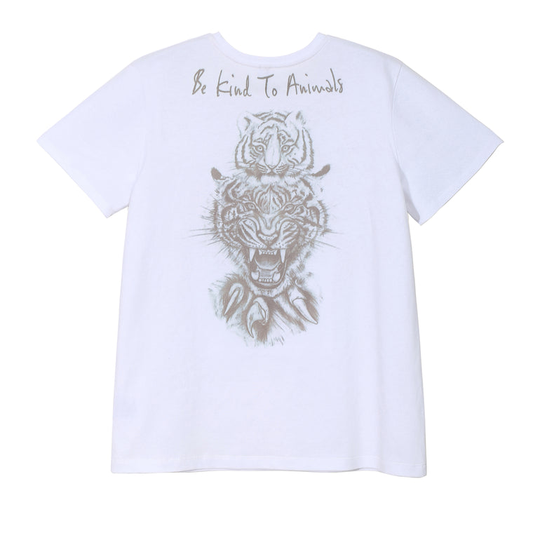 BE KIND TO ANIMALS TEE (LIGHT)