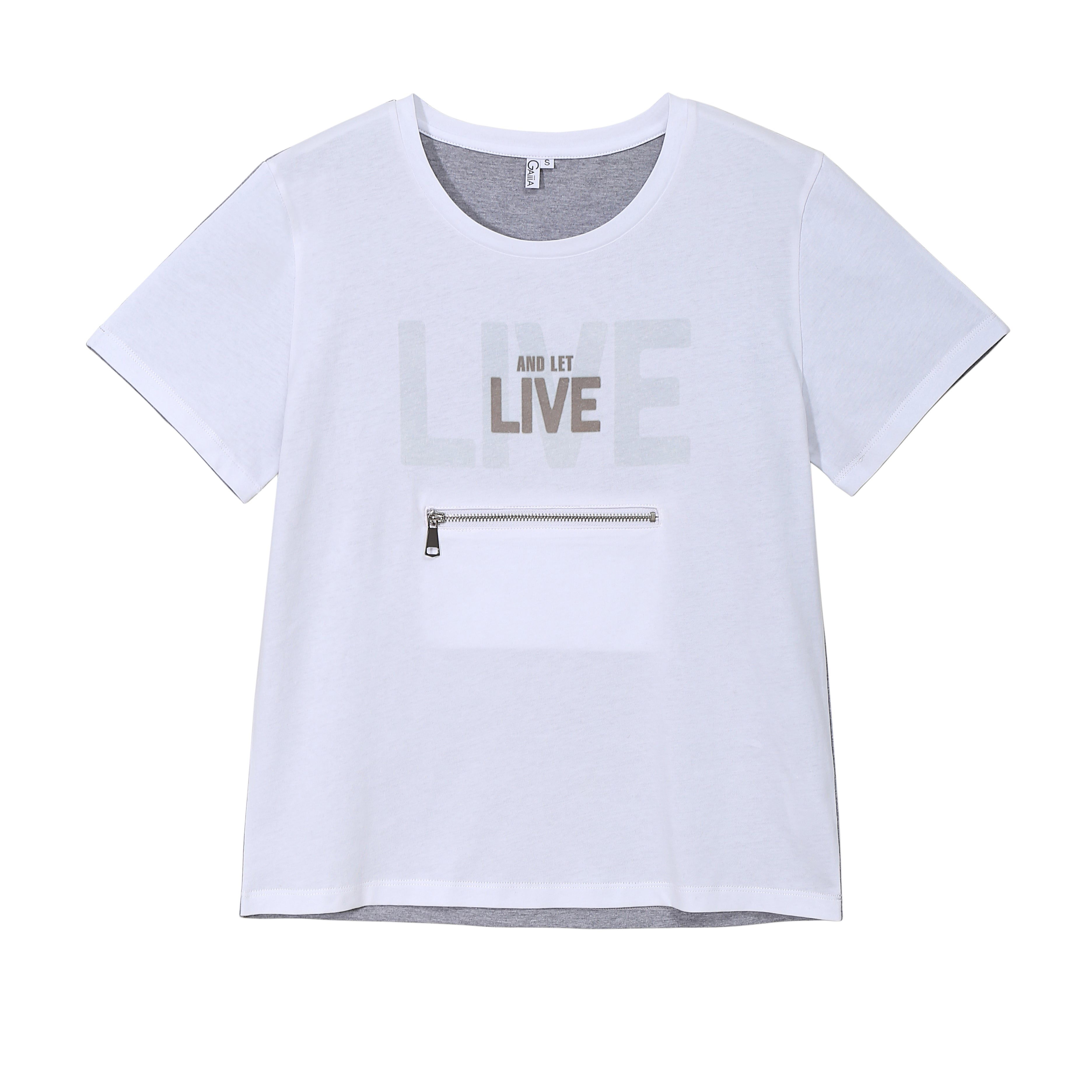 LIVE AND LET LIVE TEE (LIGHT)