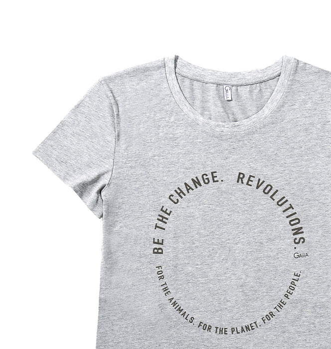 BE THE CHANGE REVOLUTIONS TEE