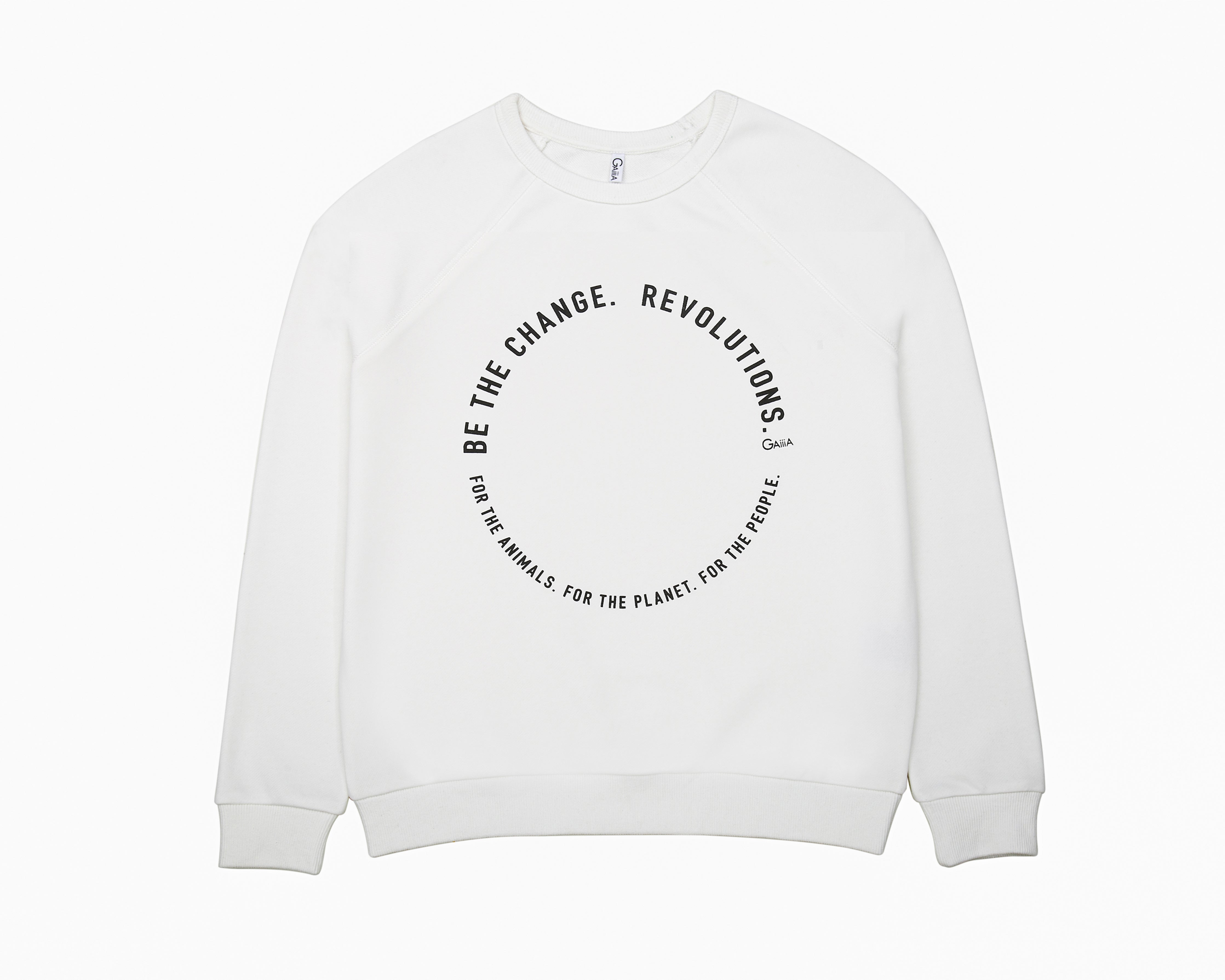 BE THE CHANGE REVOLUTIONS PULLOVER