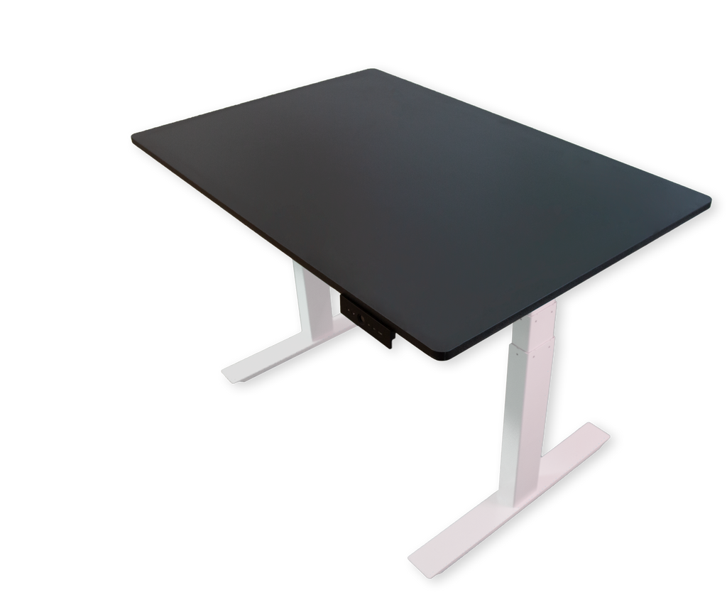 ActiveDesk - Height adjustable standing desks - Black / 120 x 80 cm / White