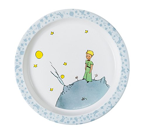 The Little Prince Baby Plate (21 cm, Blue, The Little Prince)