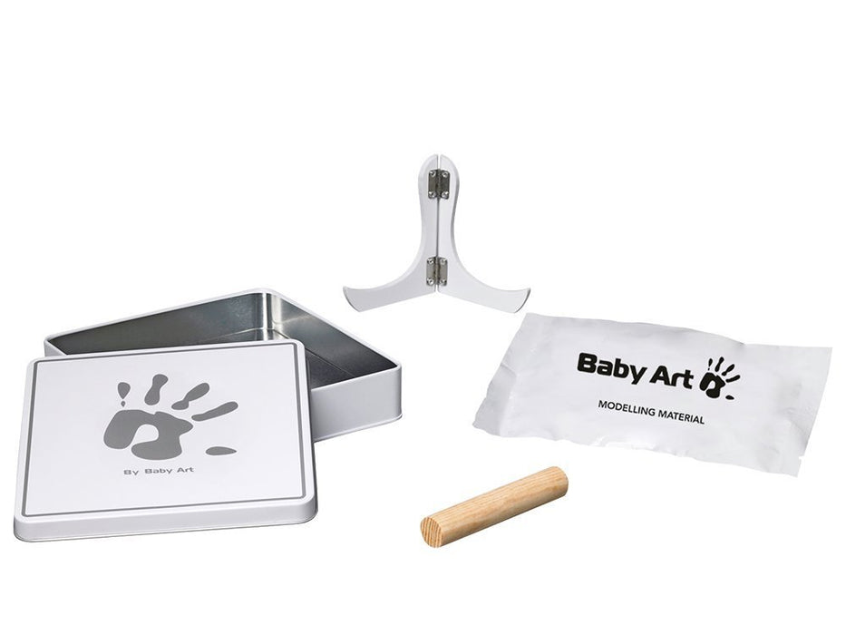 Baby Art Magic Box (White & Grey)