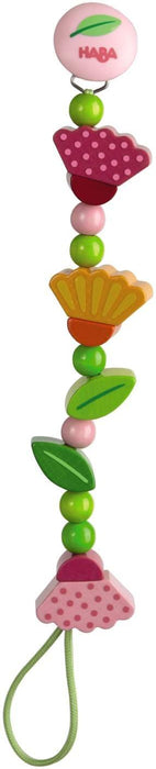 HABA Pacifier Chain Springtime Flowers