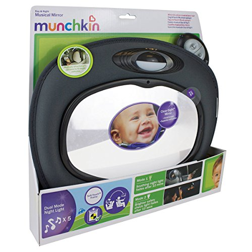 Munchkin Day and Night Musical Mirror