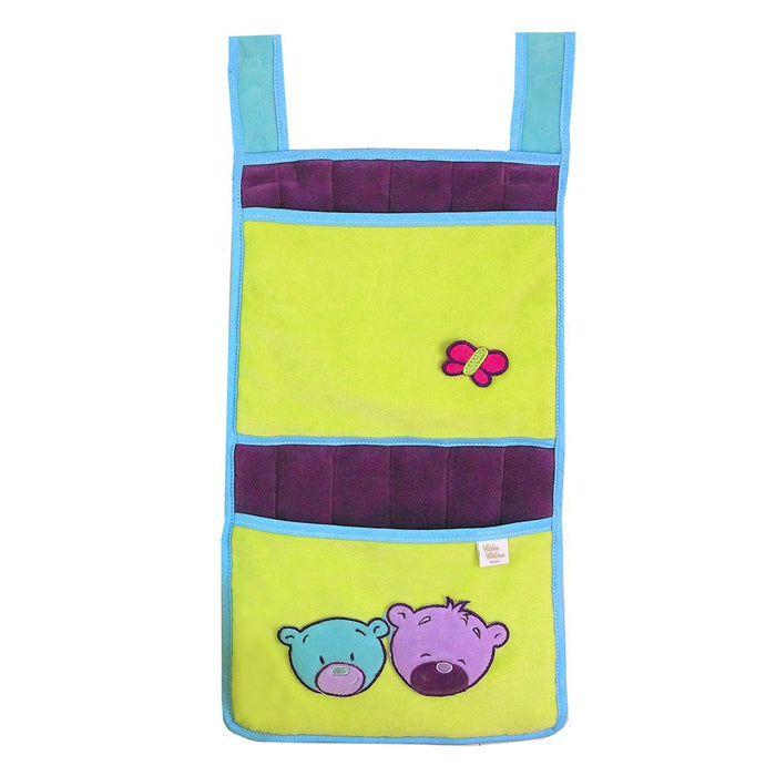 Câlin Câline Lilou 405.31 Hanging Storage Bag Raisin / Blue / Aniseed Green