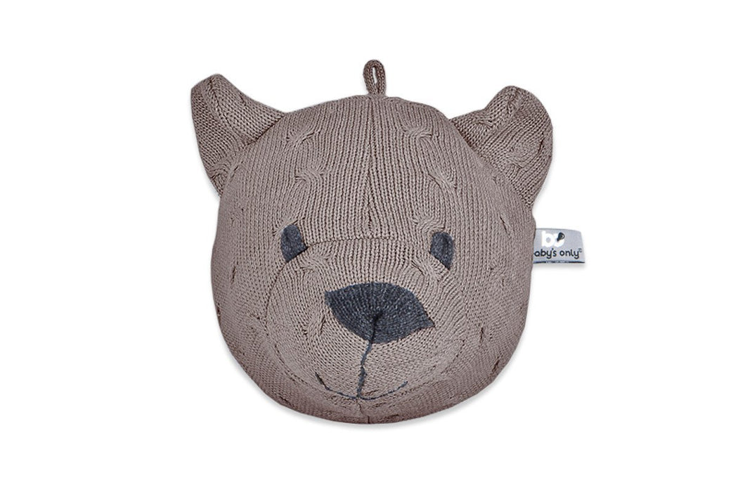 Baby's Only Knitted Bear's Head