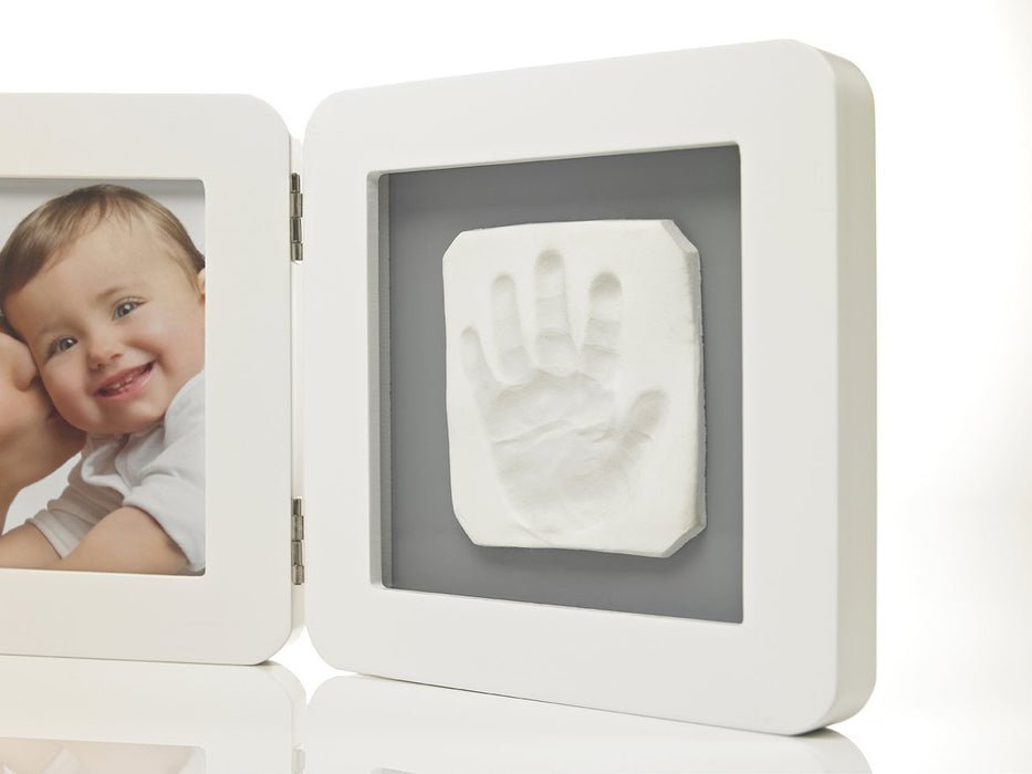 Baby Art My Baby Touch Print Frame (White/Grey)