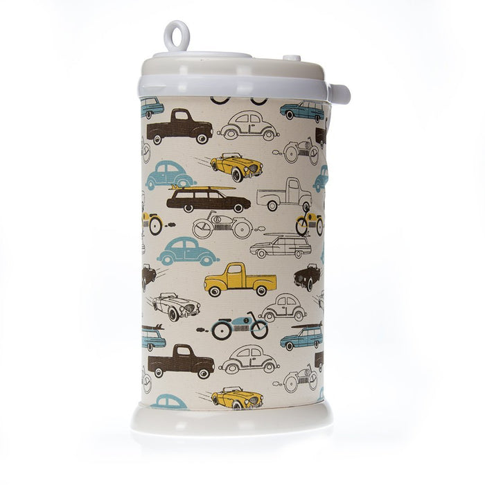 Sweet Potato Traffic Jam Ubbi Diaper Pail Cover