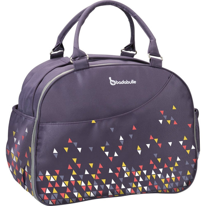 Badabulle Weekend Changing Bag (Confetti Purple)
