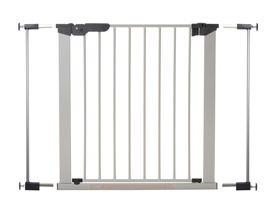 BabyDan Premier True pressure fit gate with indicator- Silver