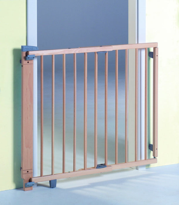 Geuther 2734 Swinging Safety Gate for Doors (Natural)