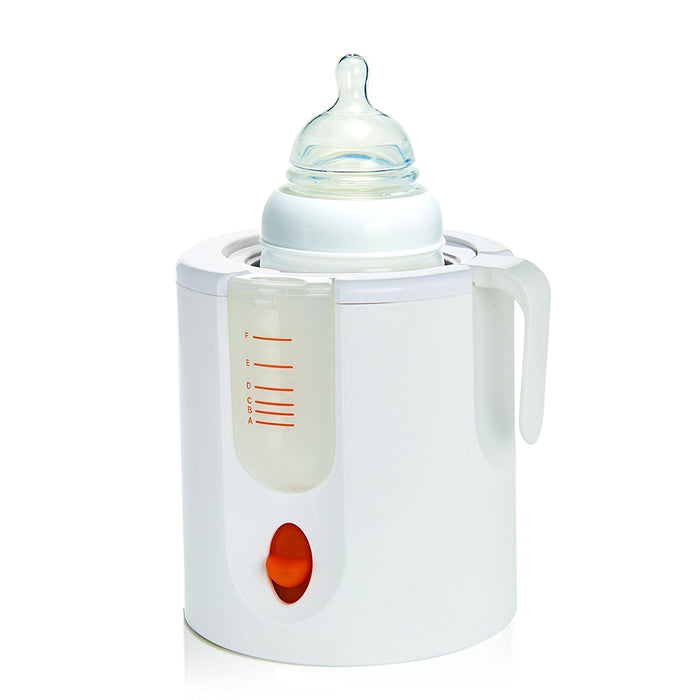 Munchkin High Speed Bottle Warmer, Orange/White, 1 Count