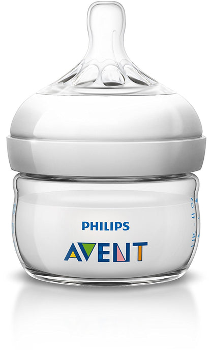 Philips Avent Natural Baby Bottle (2 oz/60 ml)