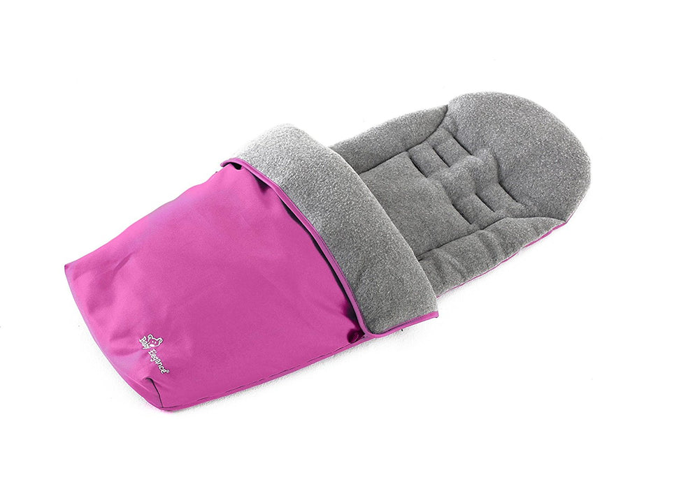 Baby Elegance Jersey Lined Footmuff (Pink)